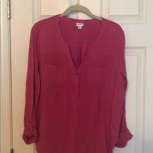 *Bundle* Merona two button pull over tops